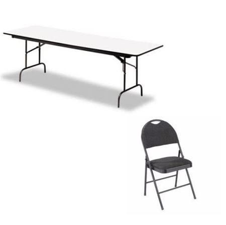 TABLES, CHAIRS, & LINENS